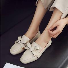 Donna PU Senza tacco Ballerine Mary Jane أحذية