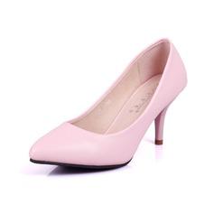 Kvinder Kunstlæder Stiletto Hæl Pumps sko
