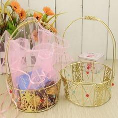 Basket Boîtes cadeaux/Gâteau Boîtes avec Rubans