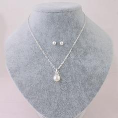 Elegant Imitert Perle Damene ' Smykker Sett