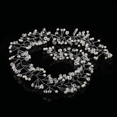 Tekojalokivi/Metalliseos/Valetaskua helmi Liikuttunut jossa Tekojalokivi/Venetsialaine Helmi (Myyty yhtenä palana)