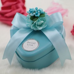 Treasure Chest Metal Favor Boxes With Ribbons  (050141420)