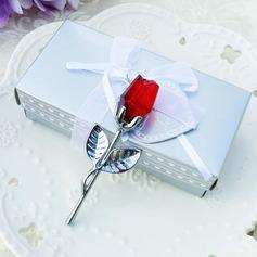 Choice Red Crystal Long Stem Rose