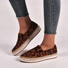 Donna Camoscio Senza tacco Ballerine scarpe