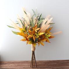 Forme libre Tissu/D'emulational baies Bouquets de mariée -