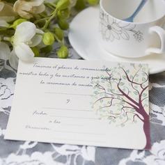 Modern Enkla kort Invitation Cards (Sats om 50)