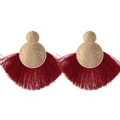 Vackra Och Legering med Tofsar Kvinnor Mode örhängen