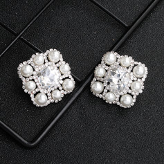 Ladies' Elegant Rhinestones Earrings For Bride/For Bridesmaid/For Mother/For Friends/For Couple (011220118)