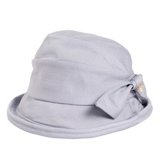 Dames Beau Coton/Polyester avec Bowknot Chapeaux de plage / soleil