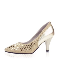 Women's Leatherette Ballroom Dance Shoes (053137651)