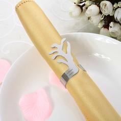 Personalizado Aço inoxidável Anéis de guardanapo