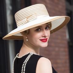 Señoras' Elegante poliéster Disquete Sombrero