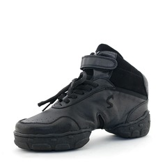 Unisex Real Leather Sneakers Sneakers Dance Shoes (053131881)