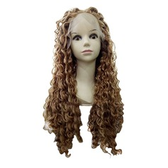 4A non remy Kinky Curly Cheveux humains Perruques en dentelle pleine