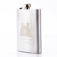 Personalized Castle Design Stainless Steel 224ml(8-oz)
