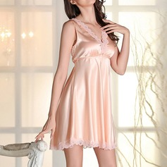Polyester/Spandex Bridal/Feminine Sleepwear