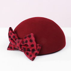 Ladies' Classic/Simple Wool With Bowknot Beret Hats (196228499)