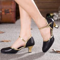 De mujer Piel Danza latina Zapatos de danza