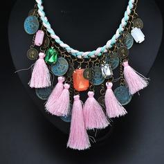 Vackra Och Legering Kvinnor Mode Halsband (Säljs i ett enda stycke)