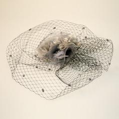 Damen Schöne Net Garn/Seide Blumen Kopfschmuck