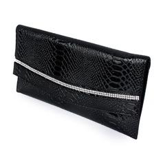 Charmen/Mode Kristall/Strass/PU/Strass Grepp/Handledsväskor