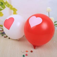 Projeto do coração Balão (conjunto de 24)