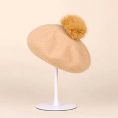 Damen Schön Wollen Baskenmütze Hut