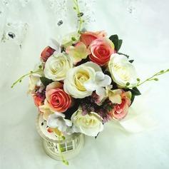 Coloré Rond Bouquets de demoiselle d'honneur