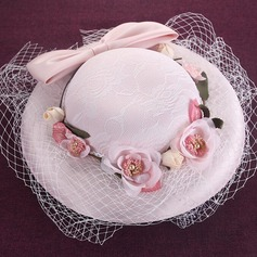 Ladies ' Smukke/Gorgeous Silke med Bowknot Baret Hat/Tea Party Hats