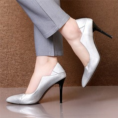 Naisten Aitoa nahkaa Piikkikorko Avokkaat Suljettu toe jossa Muut kengät