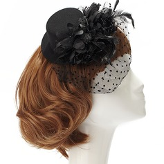 Dames Mode Fil net Chapeaux de type fascinator/Chapeaux Tea Party