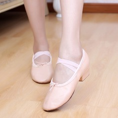 Women's Kids' Leatherette Heels Ballet Dance Shoes