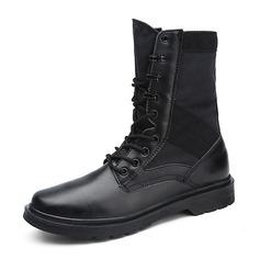 Мужская натуральня кожа Chukka вскользь Men's Boots