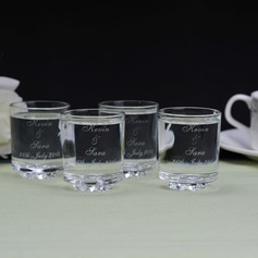 personnalisé Design simple Verre Coupe (Lot de 6)