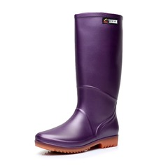 Women's PVC Low Heel Rain Boots shoes