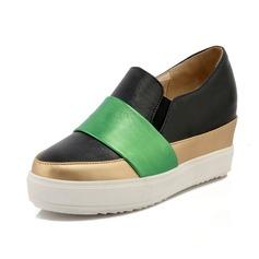 Women's Leatherette Wedge Heel Platform Wedges shoes