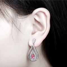 Beautiful Alloy Crystal With Imitation Crystal Women's Fashion Earrings (Sold in a single piece)