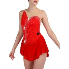 Женщины Одежда для танцев нейлон Латино Платья