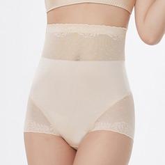 Mulheres Sexy/Lua de Mel Chinlon/Nailon Cintura Alta Cuecas Calcinha shaper do corpo