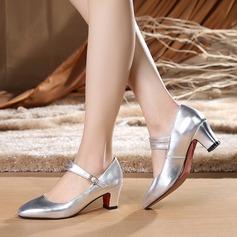 De mujer Piel Danza latina Estilo Moderno Zapatos de danza