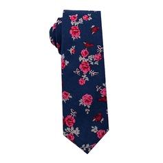 Floral Coton Cravate