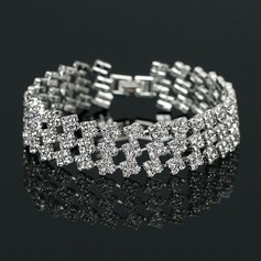 Nice Strass/koppar Damer' Armband