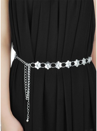 Fashional Alloy Belt With Rhinestones