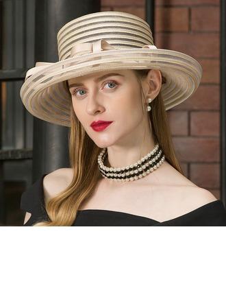Ladies' Beautiful Cambric Floppy Hats/Tea Party Hats