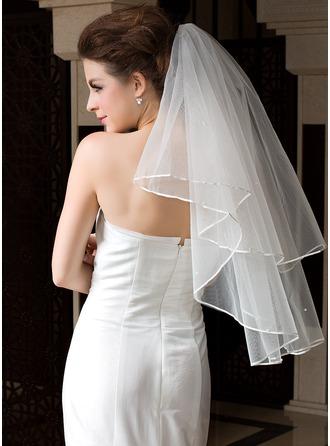Uno capa Velos de novia vals con Con lazo
