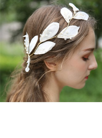 Ladies Beautiful Beads/Voile Headbands (Sold in single piece)