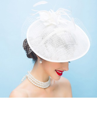 Damen Mode/Glamourös/Exquisiten/Erstaunlich/Ins Auge Fallend/Romantisch/Jahrgang Batist mit Feder Kopfschmuck