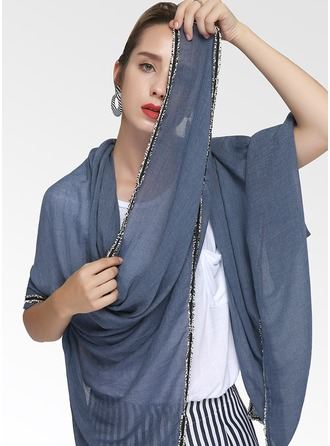 Solid Color Light Weight Cotton Scarf