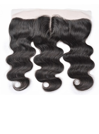 """13""""*4"""" 4A Straight Human Hair Closure (Sold in a single piece)"""