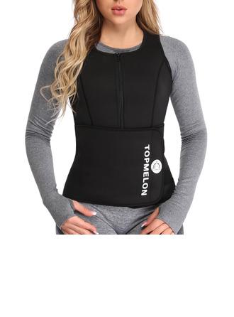 Mulheres Casual/suor Borracha Tanques E Camis/Cintura Cinchers/Esportes Cintas